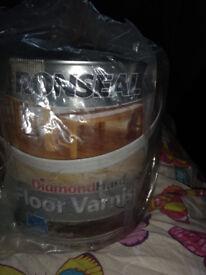 Ronseal diamond hard floor varnish walnut