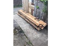 Free for collection - pile of wood