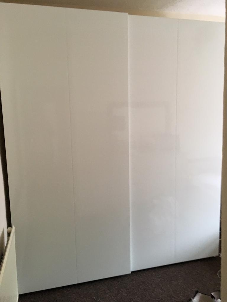 Ikea Hasvik Sliding Doors And Wardrobe In Pontypridd