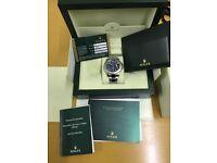 Rolex Yachtmaster men's blue dial 2013