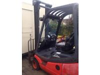 LINDE 2004 H12 GAS forklift truck