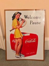 Retro Coca-Cola advert