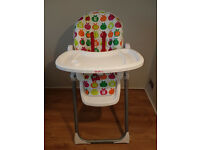 Redkite foldable baby high chair