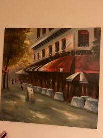 Big acrilic painting
