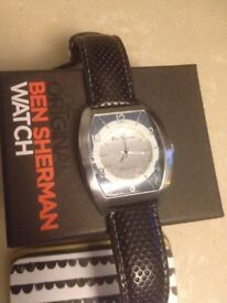 ben sherman watch bought as a present only have one so not needed brand new never used