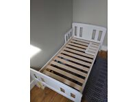 Almost unused first bed - from John Lewis