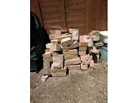 Free - small amount of bricks, some halfed. Need gone asap
