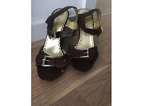 Juicy Couture Wedge Sandals size UK 6 Dune, Ralph Lauren, Reiss, Zara, River Island, Clarks
