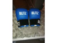 Blitz karate gloves, size small