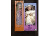 Alberon Doll and Leonardo Collection Porcelain Dolls
