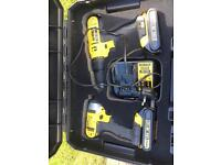 Dewalt drill and impact set 18v