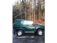 Landrover Defender 90 Hard top Immaculate No VAT Very Low Miles