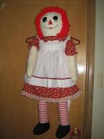 life size, custom, hand made Raggy Ann Doll