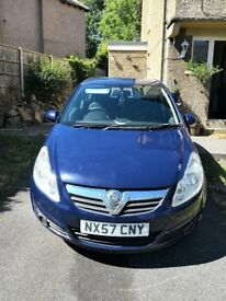 Vauxhall Corsa 1.4 i 16v Club 5dr, Auto, Petrol, Lady Owner, Serviced with 6 mnths Road Tax