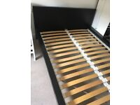 Malm Double Bedframe (mattress included if wanted)