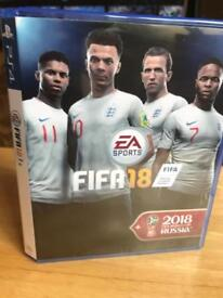 FIFA 18 for PS4 official World Cup cover