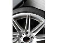 BMW 19inch alloy wheel, tyre and storage bag