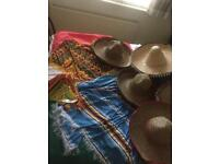 Mexican fancy dress and decorations