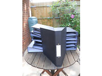20x Black Office Ring Binder Files *FREE TO COLLECTOR*