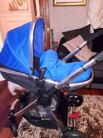 mothercare 3n 1 pram