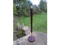 Modern retro wood & metal standard lamp Nr Croydon