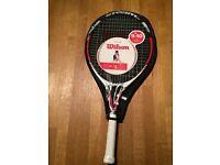 """Wilson Steam 25"""" Junior Tennis Racket"""