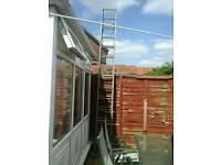 24ft aluminium ladders