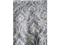 QUALITY CURTAIN UPHOLSTERY FABRIC by CLARKE & CLARKE.