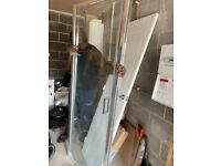 New Shower door 1950mm height and 700mm width with frame