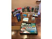 Aquarium / Fish Tank testing kit and water maintenance kit + prime