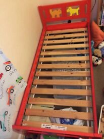 Childrens IKEA Kritter bed