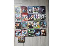 PS 3 bundle games. £40