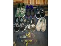 Nike Air Max, Nike Free, Vans