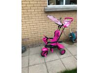 Smartrike 4in1 flamingo, good used condition, collection only