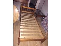 Choice of 2 single pine bed frames £30 Each no mattress