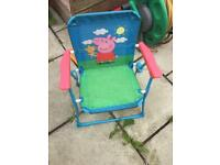 Peppa pig children's chair