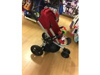 Quinny Buzz Xtra Pushchair, Carrycot and Pebble car seat