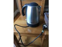 BLACK AND STAINLESS STEEL KETTLE