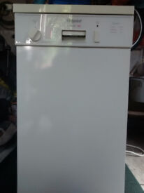 HOTPOINT SLIMLINE DISHWASHER FOR SPARES OR REPAIR HEATER NOT WORKING