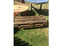 TV stand / Coffee table upcycled pallet furniture