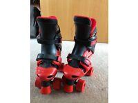 Junior skate shoes adjustable size 1-2-3