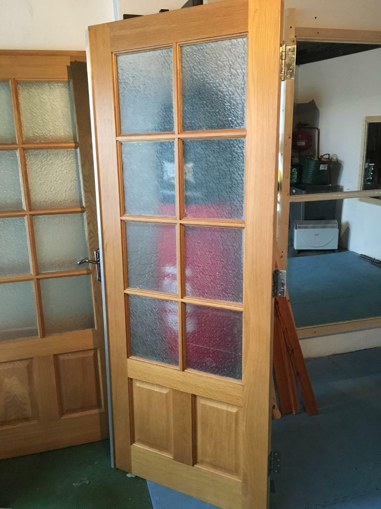 2 x internal glass oak doors pair of double doors in millisle 2 x internal glass oak doors pair of double doors planetlyrics Image collections