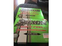 1 box of srixon and 1 box of titleist been used