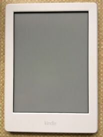Kindle E-Reader 6 inch white 4GB, as new