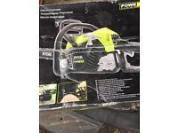 New ryobi chain saw