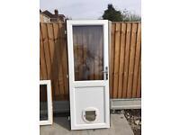 Upvc Door Double Glazed & frame