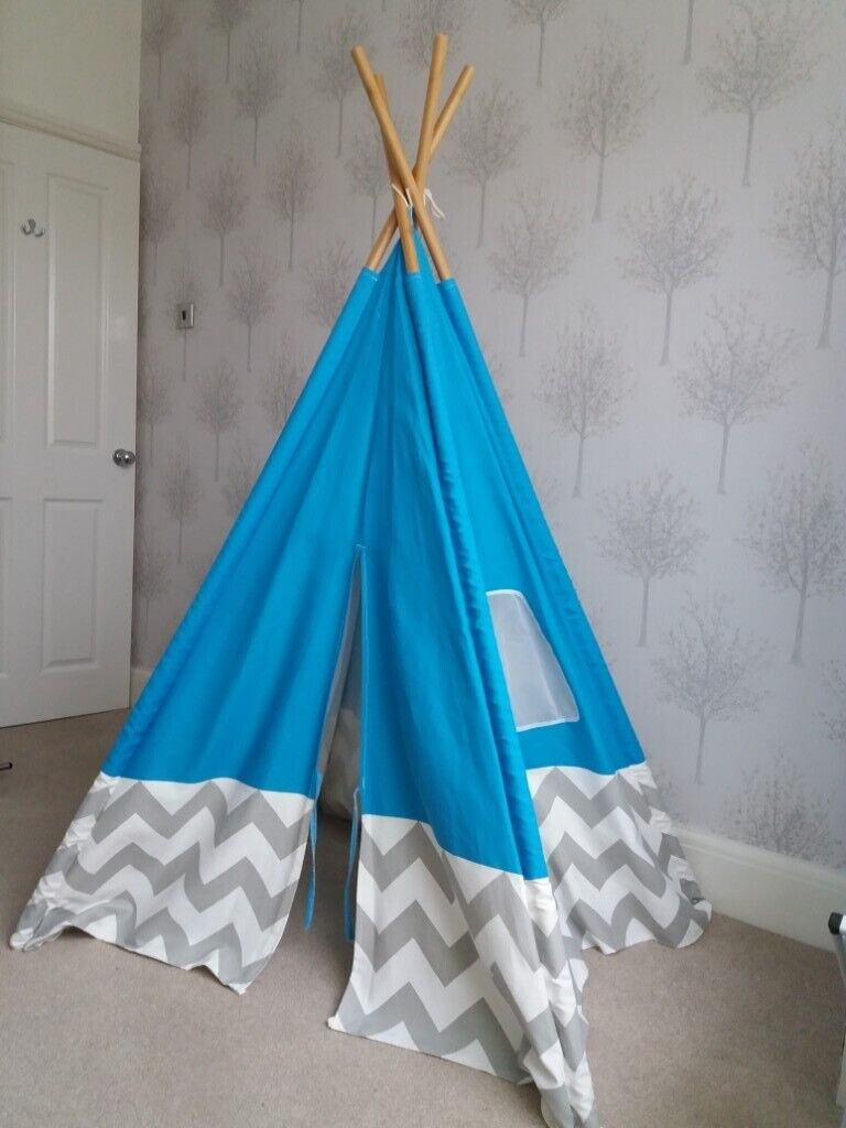 reputable site ef90f 25e30 Teepee blue tent from Argos | in Sefton Park, Merseyside | Gumtree