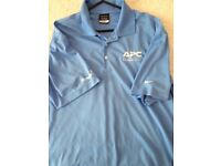 Nike x2 polo tops size large.