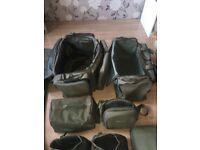 Trakker complete luggage set up