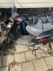 Gilera stalker 50cc moped